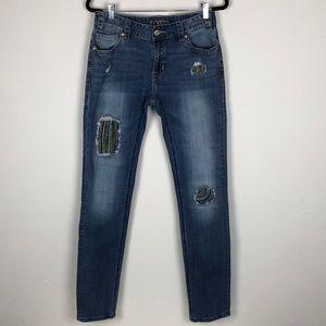 Rock & Roll Cowgirl Boyfriend Skinny Jeans